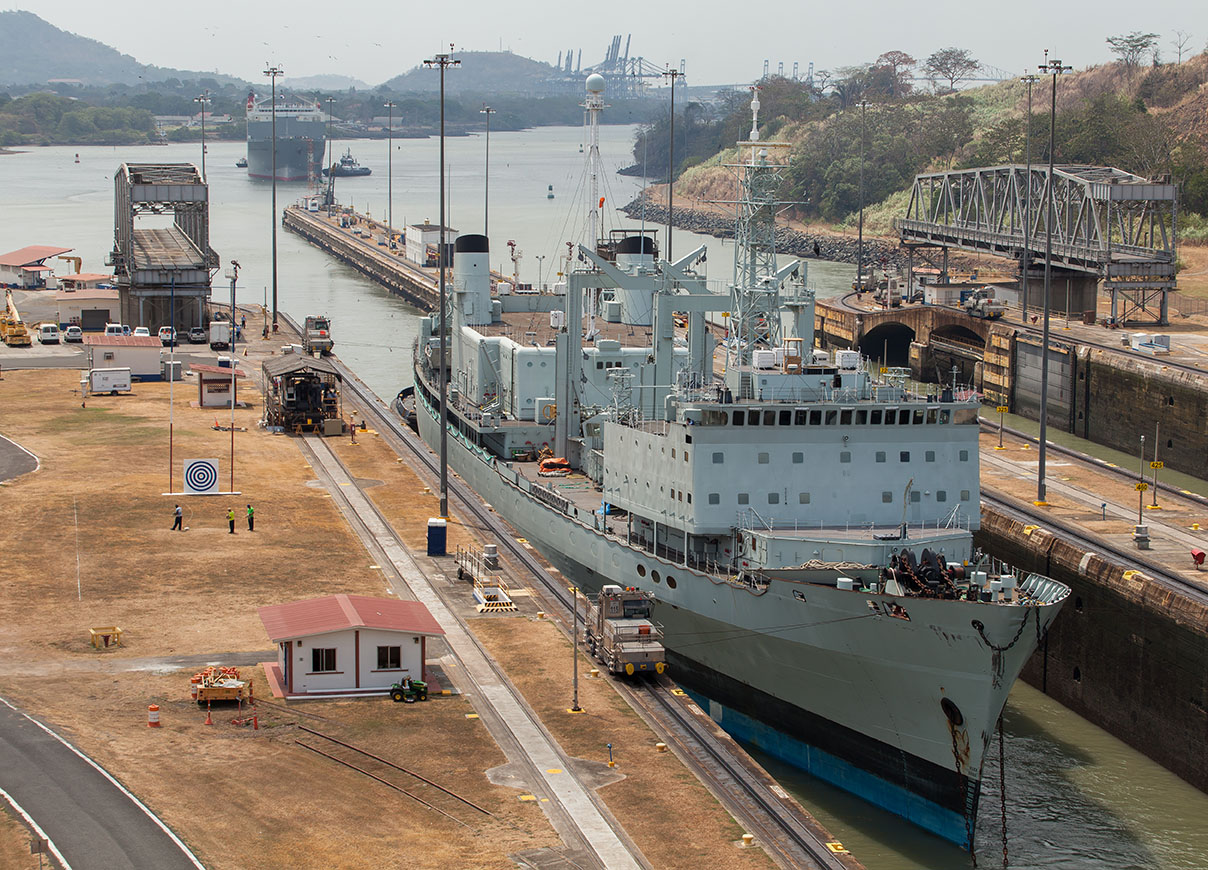 Visit the Panama Canal